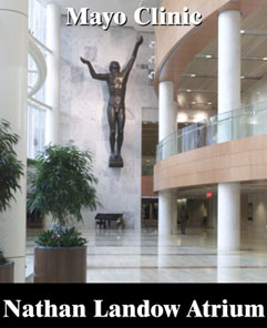 Nathan Landow Atrium at the Mayo Clinic